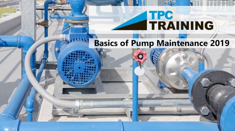 Basics of Pump Maintenance w/ TPC Online Webinar | TPC Training