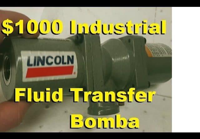 BOLTR: Lincoln Industrial Fluid Transfer Pump.