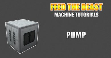Feed The Beast – Machine Tutorials – Pump