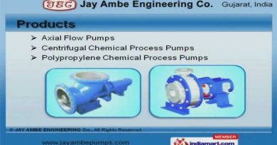 Industrial Pumps and Valves by Jay Ambe Engineering Co., Ahmedabad