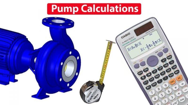 Pump CALCULATIONS, Flow rate, RPM, Pressure, Power, Diameter