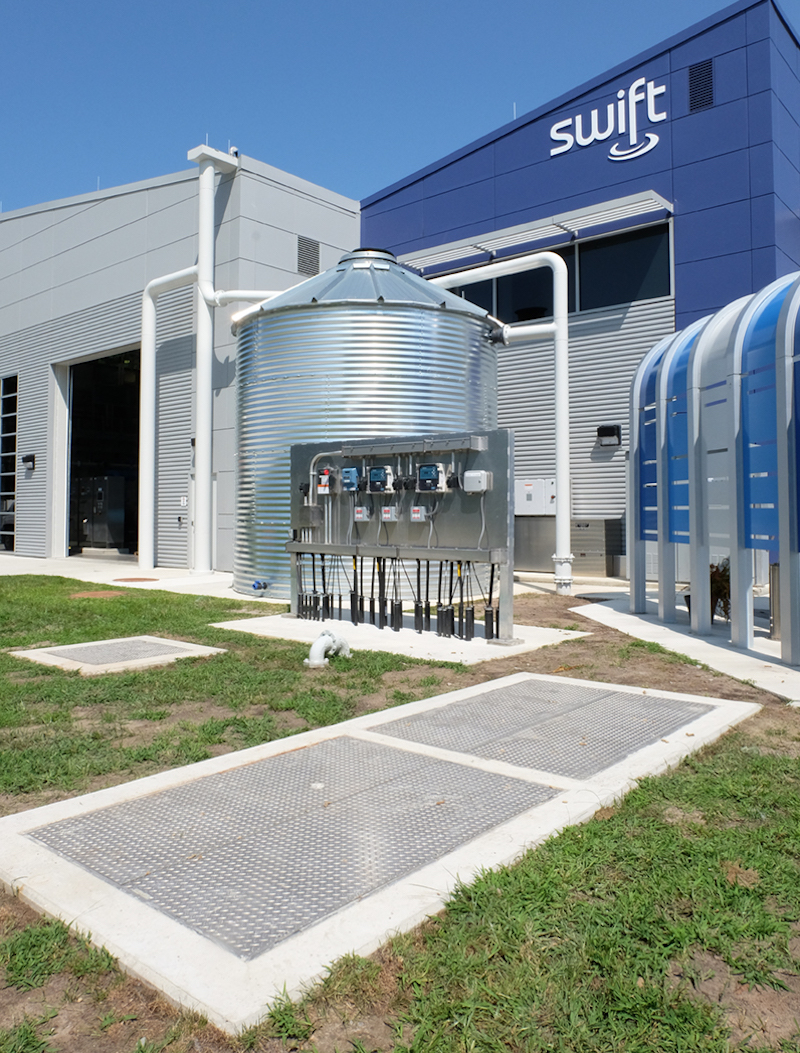 An innovative water treatment program in Virginia called SWIFT (Sustainable Water Initiative for Tomorrow) relies on BILCO for specialty access doors.