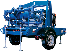 The SludgeKat is designed for heavy-duty industrial and construction applications.