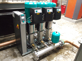 Wilo provides energy saving system for students