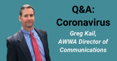 AWWA Director of Communications Greg Kail Talks COVID-19