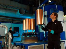 Loading the Hardide coating reactor at the companys UK coating facility in Bicester, Oxfordshire.