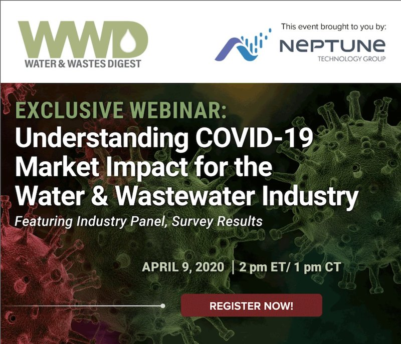 WWD Senior Managing Editor Bob Crossen discusses the impact of coronavirus on the water and wastewater industry.