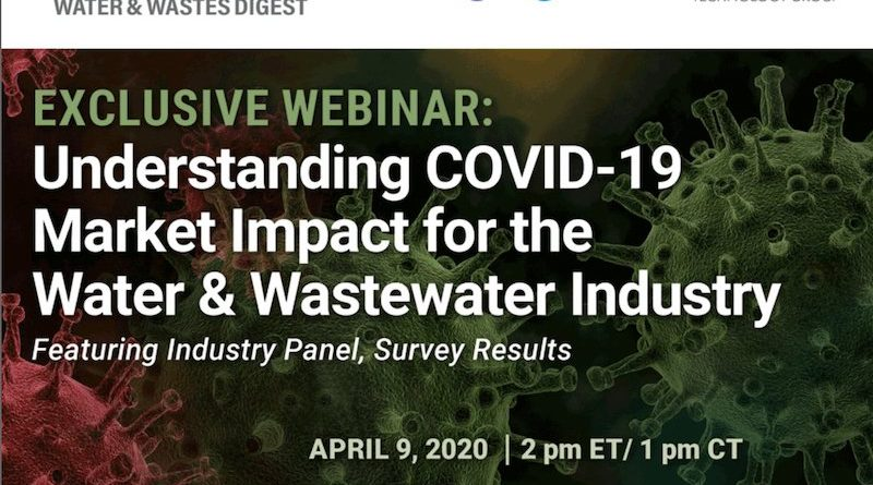 Understanding COVID-19 Market Impact for the Water & Wastewater Industry