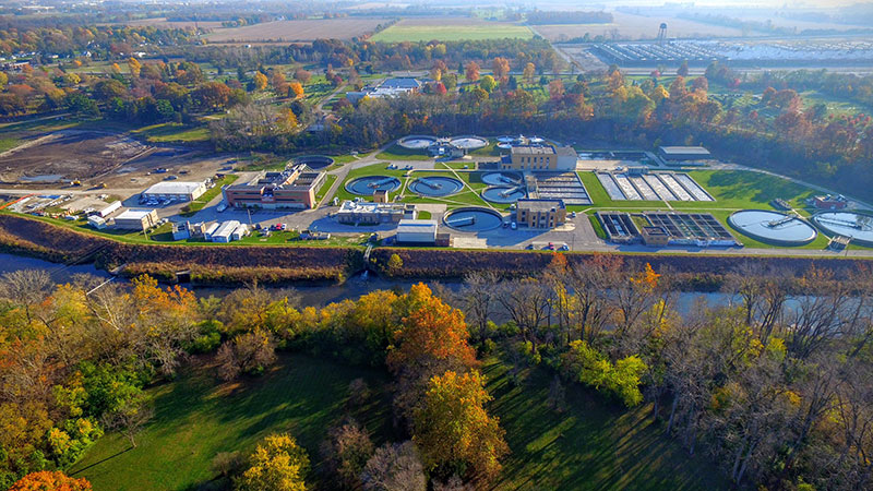 Muncie, Indiana, Water Pollution Control Facility