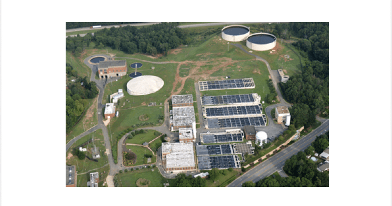 Aerial view of the North Columbus, GA resource facility.