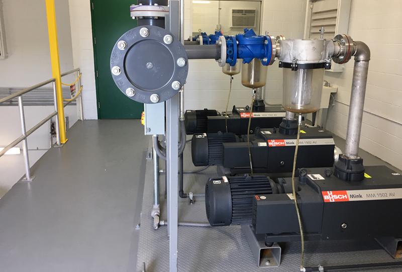 Vacuum Pump Modulation