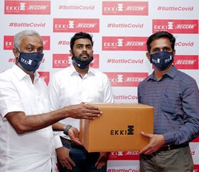 Covid-19: India's EKKI provides PPE for pump installers