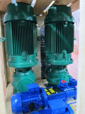 North Ridge supplies marine type approved pumps