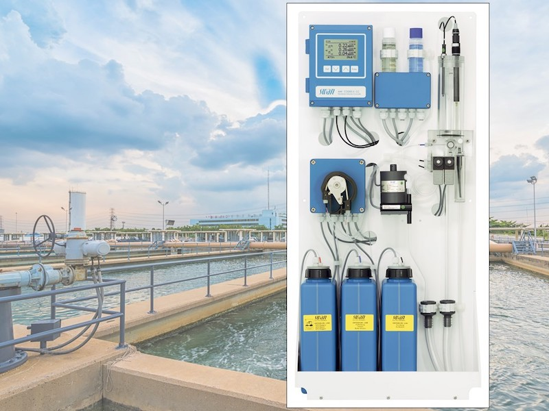 swan analytical chlorine analyzer codes II