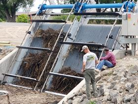 Duperon bar screening protects pumps from debris
