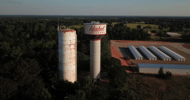 Induron Coatings Protect Two Idabel, Oklahoma Storage Tanks