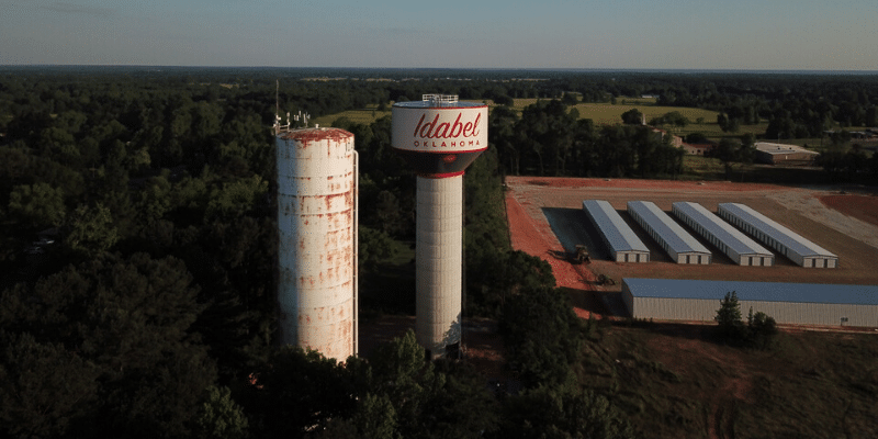 Induron Coatings Protect Two Idabel, Oklahoma Storage Tanks