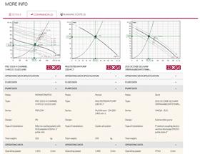 The PumpSelector tool offers direct comparison of pump models. (Image: VSX - Vogel Software)