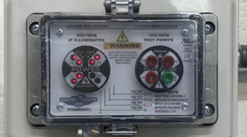 Virginia Uses Grace PESD® Voltage Test Station