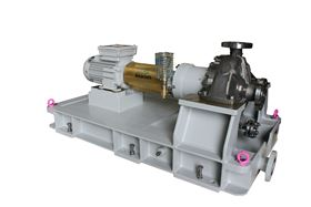 The Amarinth API 685 magnetic drive pump ready for shipment to Sensia.