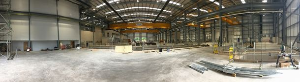 The new Sulzer workshop has been designed to optimise efficiency and workflow.