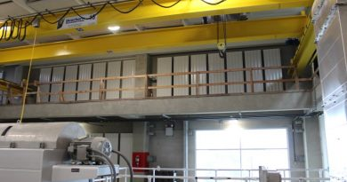 Eckel Acoustic Panels Quiet the Harsh Mechanical Noise in Wastewater Treatment Plant Sludge Dewatering and Odor Reduction Building