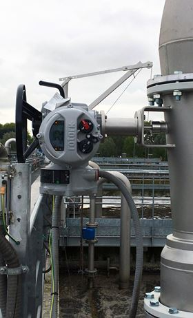Rotork actuators support Milan wastewater plant