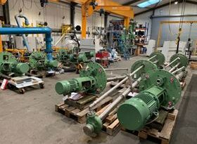 Amarinth to provide pump for Algerian processing facility