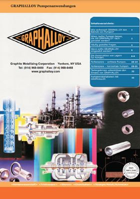 Graphalloy German pump application guide available
