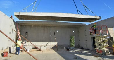 Permanent water and wastewater buildings installed in less than a week