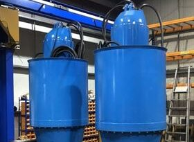 Bedford Pumps provides fish friendly pumpsets for flood protection in New Zealand