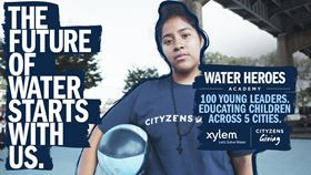 Xylem and Cityzens Giving water education project