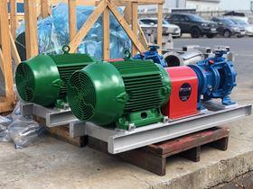Vesconite deflectors protect pump value