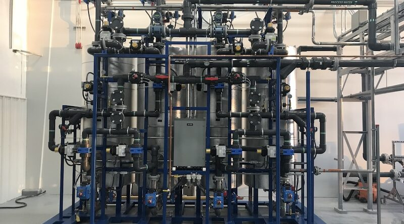 Pease Site 8: Regenerable Resin System for Groundwater Remediation