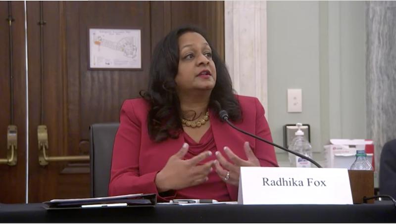 Senate Holds Hearing on Radhika Fox Nomination to EPA Office of Water