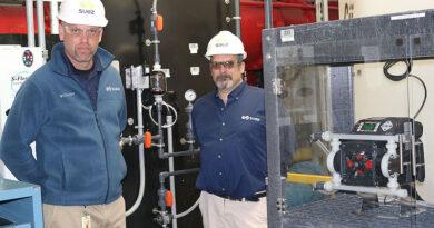 Water Treatment Plant Uses Dual Diaphragm Pump for ALUM Dosing