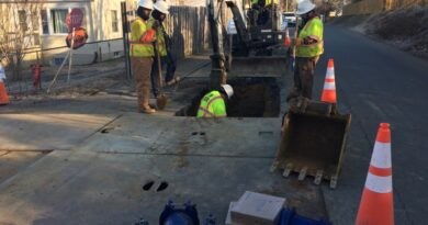 HYMAX GRIP T Helps Quickly Restore Water Service in Charlottesville, Virginia