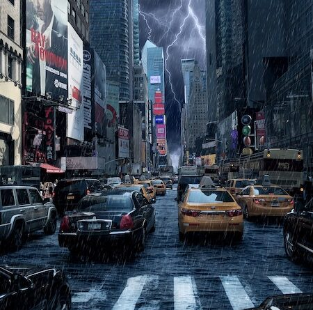 NYC National Weather Service Issues First Flash Flood Emergency